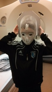 Radiation Immobilization Mask...Whoa!