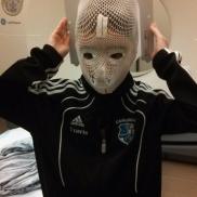 Radiation Immobilization Mask...Whoa!