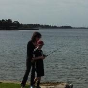 Lynne and Travis Fishing!