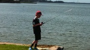 Travis Fishing!