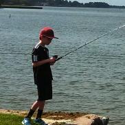 Travis Fishing!