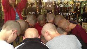 Head Shaving Event