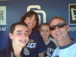 Padres Dugout Selfie!